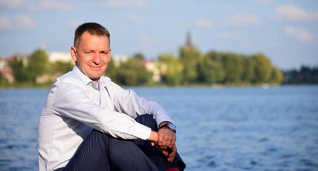 Burmistrz Sztumu Leszek Tabor