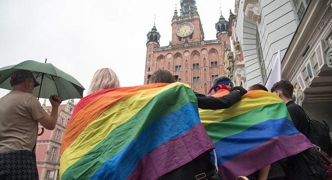 Gdańsk, manifestacja LGBT