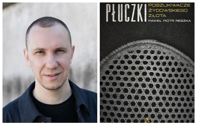 Paweł Piotr Reszka i okładka jego książki