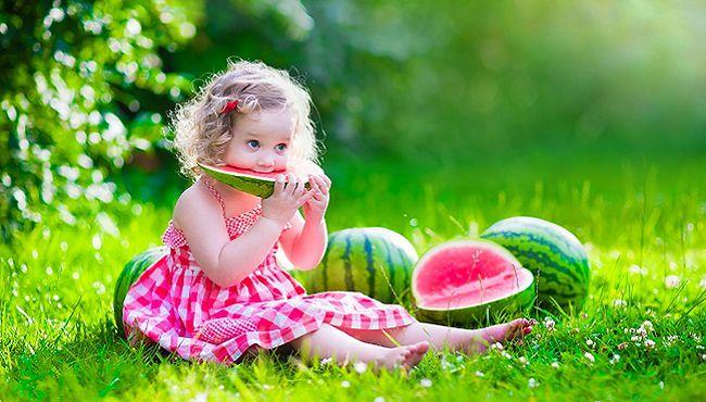 Woda jest niezb�dna w diecie dziecka