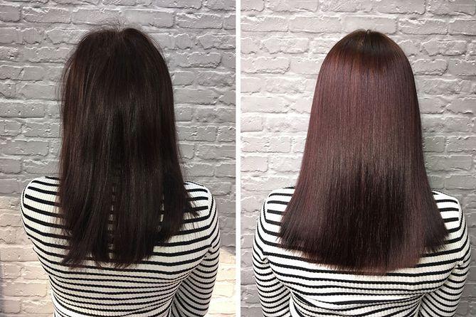 zabieg keratynowy na wypadanie włosów