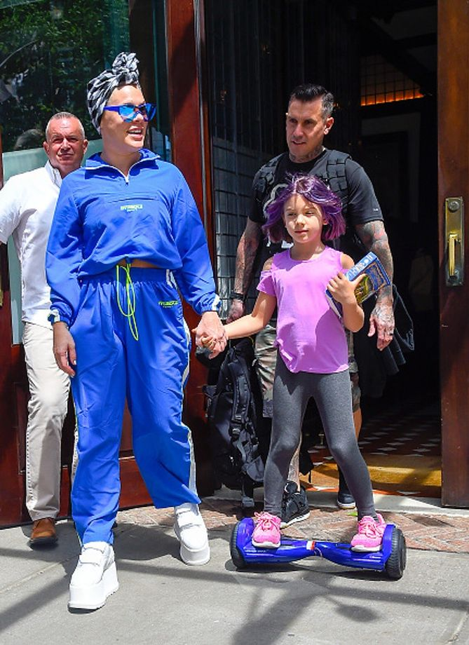 Pink Przefarbowała Córce Włosy Na Niebiesko Wp Parenting