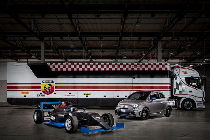 Abarth F595 ma być hołdem dla 50-lecia istnienia Formuły 4