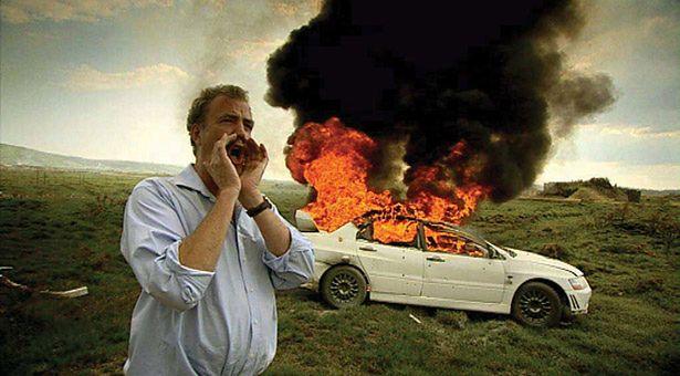 Jeremy Clarkson, Top Gear, eksplozja