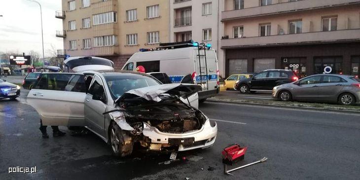 Ten kierowca jechał ulicami Łodzi 140 km/h