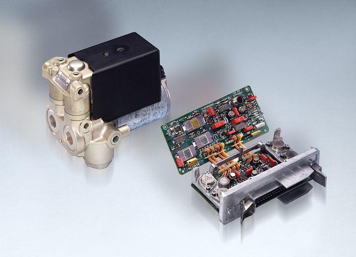 Jeden z pierwszych układów ABS: Bosch ABS 2