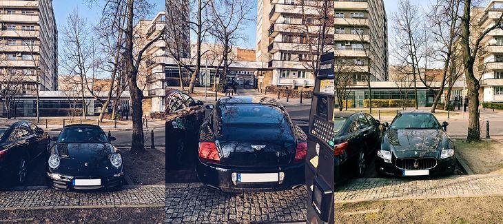 Luksusowe samochody na ulicy Matejki (fot. Czytelnik)