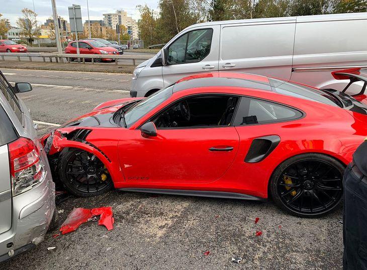 Uszkodzenia wyceniono na ponad 100 tysięcy funtów.