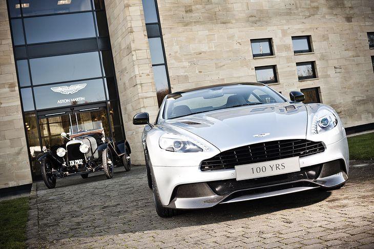 Aston Martin A3 i Aston Martin Vanquish