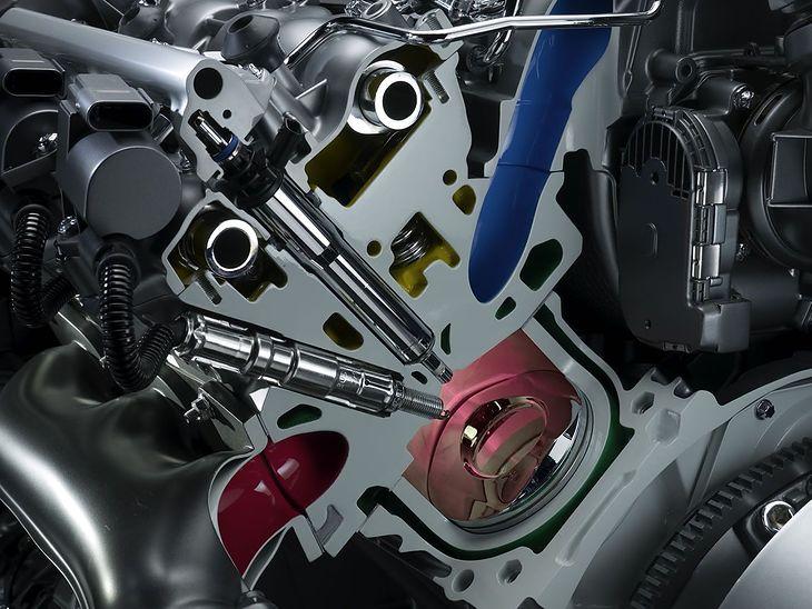 Silnik 350 CGI Mercedesa