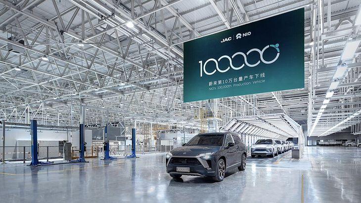 Na razie Nio sprzedawało swoje auta w Chinach, ale ma ochotę na więcej.