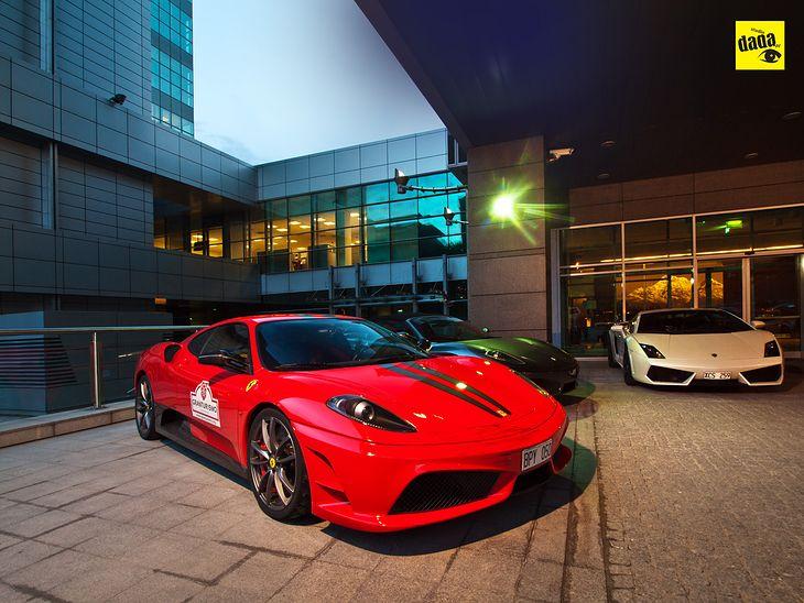 Ferrari 430 Scuderia, Ferrari F430 Spider, Lamborghini Gallardo LP560-4