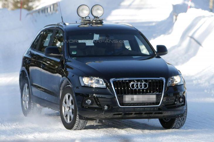 Audi Q5 - facelifting (źródło: World Car Fans)