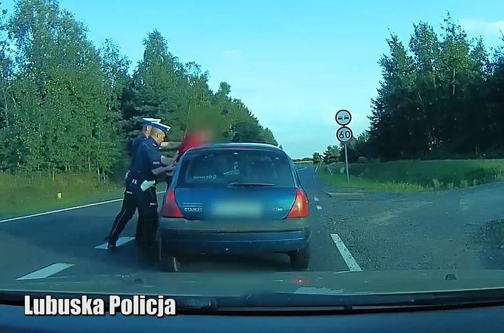 Trzeba było go wyjmować z samochodu, a potem trafił do aresztu.