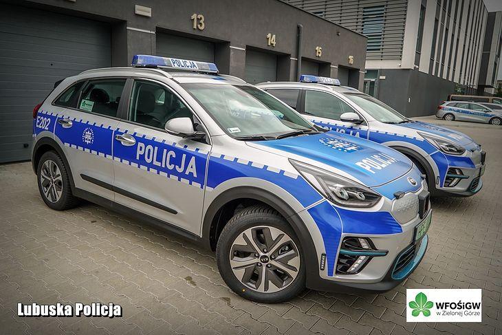 Elektryczne kie to kolejne elektryki we flocie polskiej policji