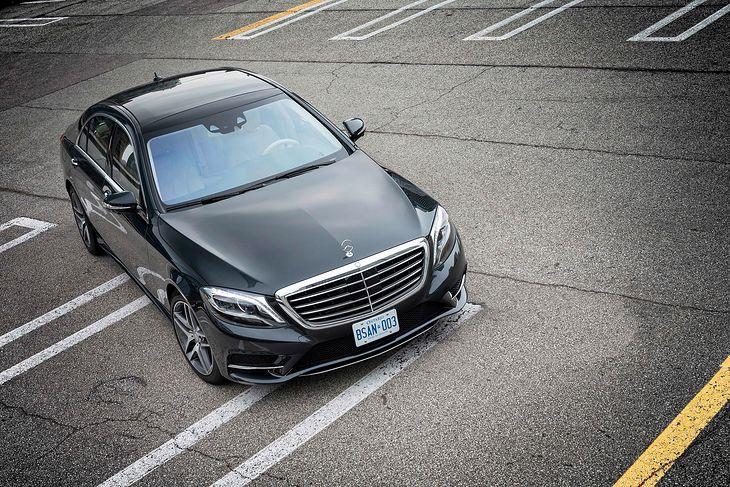 Mercedes klasy S w Kanadzie (fot. Mercedes-Benz)