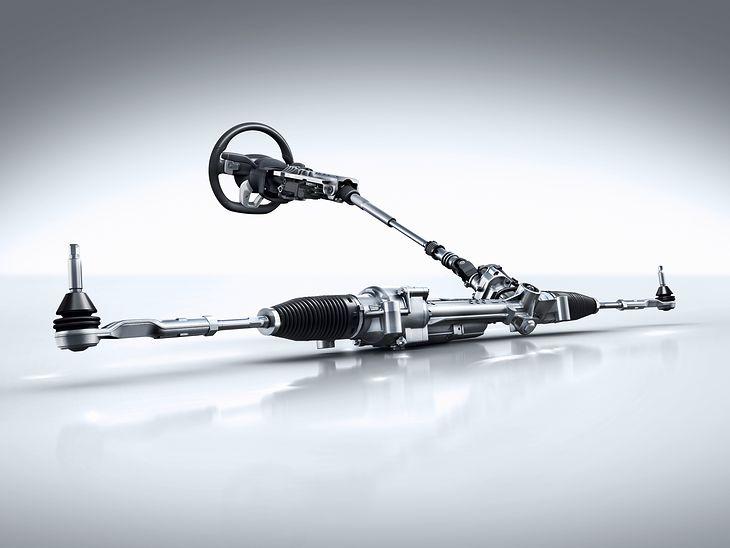 Układ kierowniczy w Mercedesie Klasy S Coupe