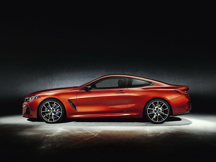 Seria 8 to bez wątpienia jedno z najpiękniejszych BMW ostatnich lat.