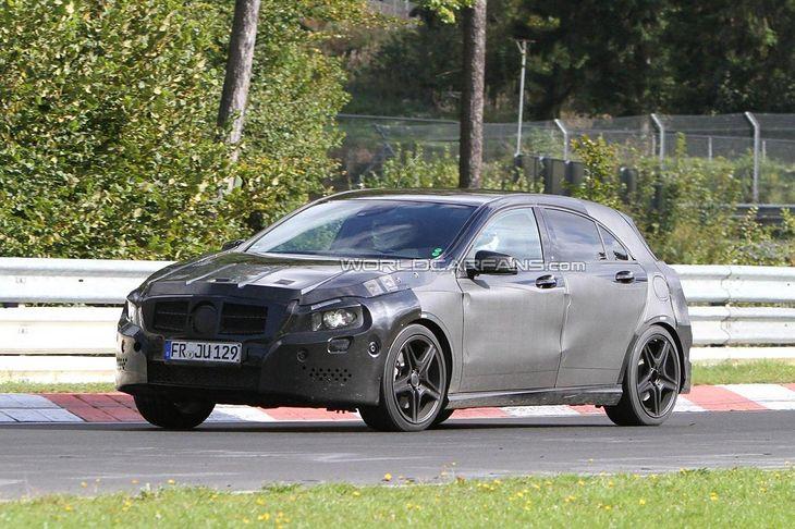 Mercedes A-klasy AMG