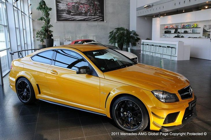 mercedes benz c63 coupe amg black series solarbeam niespodzianka dla europy. Black Bedroom Furniture Sets. Home Design Ideas