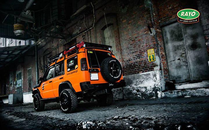 Land Rover Discovery II po modyfikacjach w RAYO