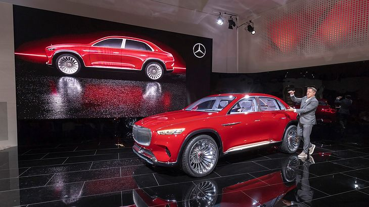 Mercedes-Maybach Vision Ultimate Luxury Concept (2018) (fot. Mercedes AG)