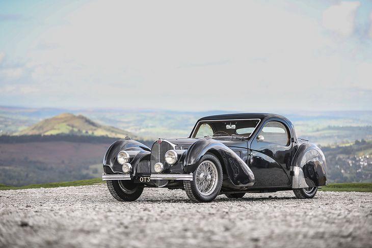 Bugatti Type 57S Atalante zajął drugie miejsce z wynikiem 10,43 mln USD