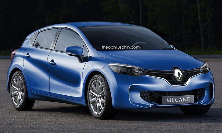 Renault Mégane 2016 - wizja artysty