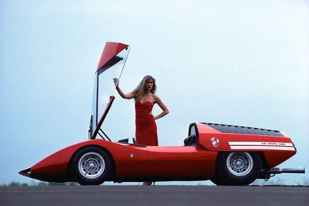 1969 Abarth 2000 by Pininfarina