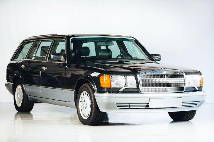 560 TEL to absolutnie unikatowa konstrukcja. Mercedes nigdy nie produkował tego modelu w wersji kombi.