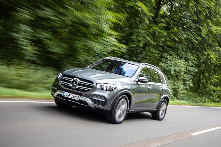 Mercedes-Benz GLE 350de ma imponujące parametry