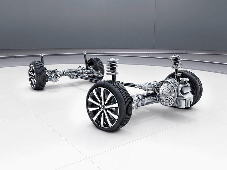 Układ zawieszenia Mercedesa GLB
