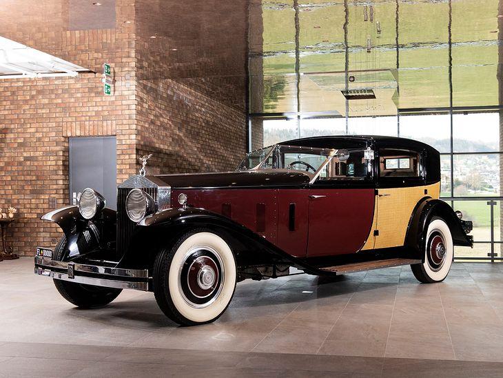 Rolls-Royce Phantom II z 1933 r. - jeden z najdroższych pojazdów w kolekcji