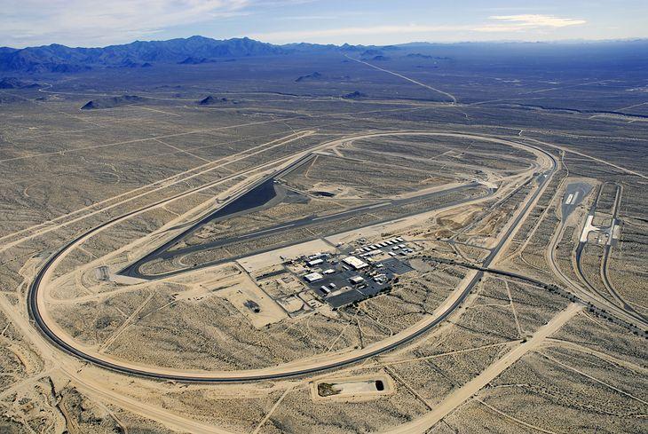 Centrum testowe w Arizonie było wykorzystywane m.in. przez Chryslera