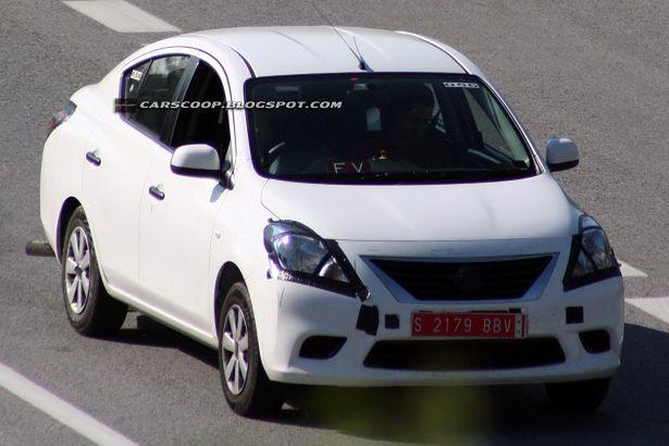 Nissan Sunny/Versa 2012