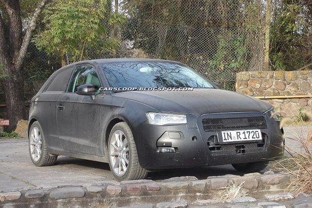 Audi A3 Spy 2013