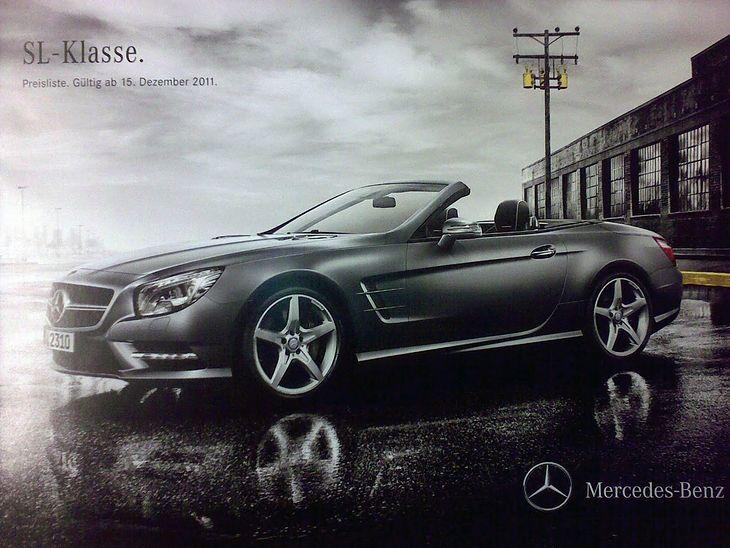 Mercedes-Benz SL 2013 (R231) - broszura