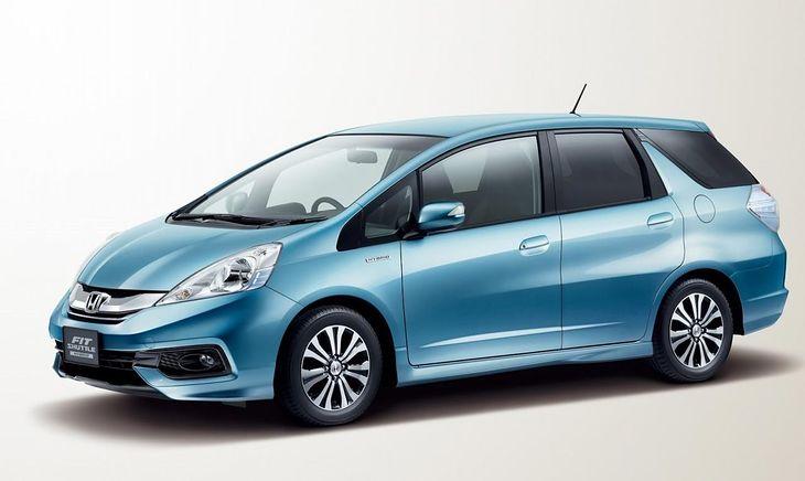 2014 Honda Jazz/Fit Shuttle