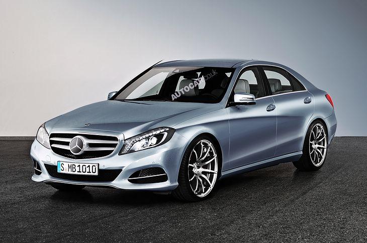 2014 Mercedes klasy C (W205) - nieoficjalna wizualizacja (źródło: Autocar.co.uk)