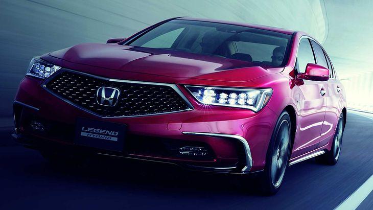 Nowa Honda Legend trafi na rynek na początku roku 2021.