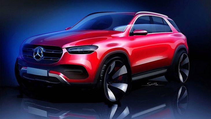 Zapowiedź nowego Mercedesa GLE. Nie tak będzie wyglądał, ale na pewno będzie ładny.
