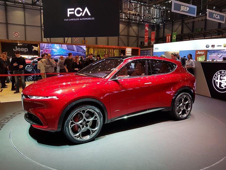 Alfa Romeo Tonale Concept.