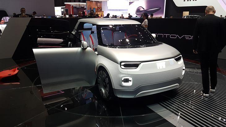 W superbly Koncept Fiat Centoventi – premiera, zdjęcia, dane techniczne UY31