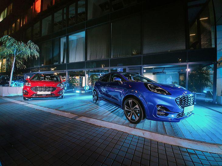 Trzy SUV-y Forda pokazano w Warszawie.