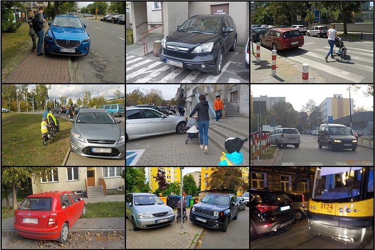 """Każdego miesiąca, z wykonanych zdjęć źle zaparkowanych aut, internauci będą wybierać """"mistrza"""""""