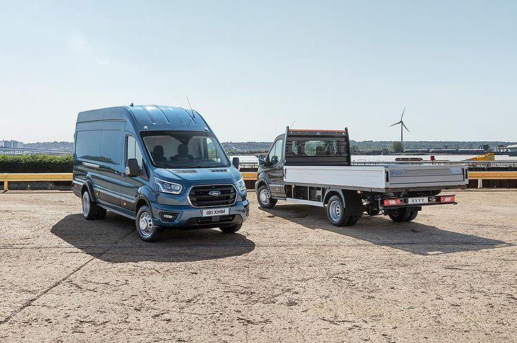 Ford Transit dmt 5 ton
