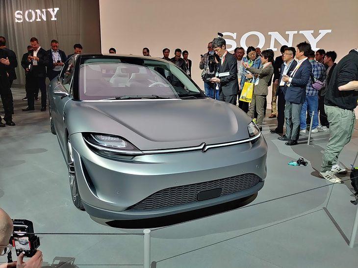 Sony Vision-S (fot. Bolesław Breczko)