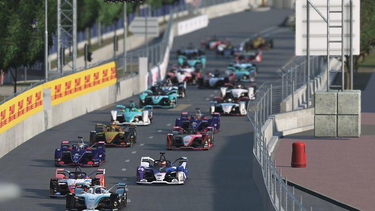 Wyścigi Formuły E przeniosły się świata wirtualnego