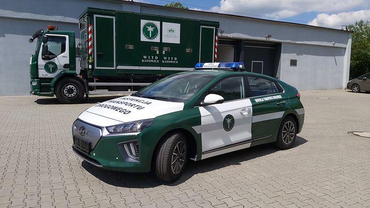 Hyundai Ioniq to pierwsze elektryczne auto we flocie ITD.