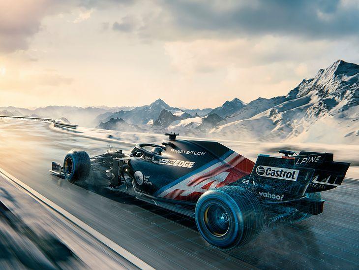Bolid Alpine F1 na 2021 rok (fot. Alpine)